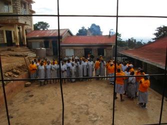 Sezione femminile del carcere di Meru.