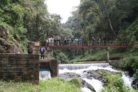 Opera di presa sul fiume Kathita